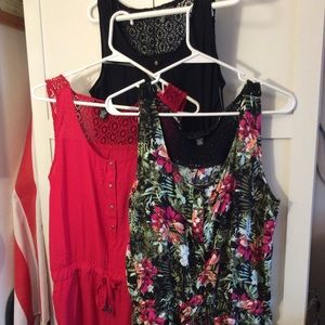 French Laundry Rompers set of 3 NWT Large